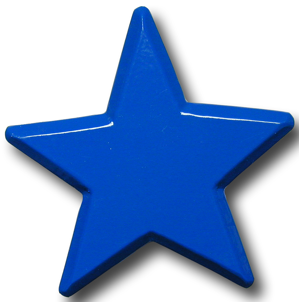 Blue star pics about space for Images of stars for kids